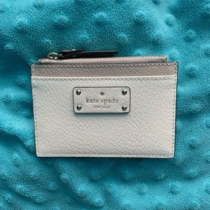 Kate Spade Zipper Card Holder